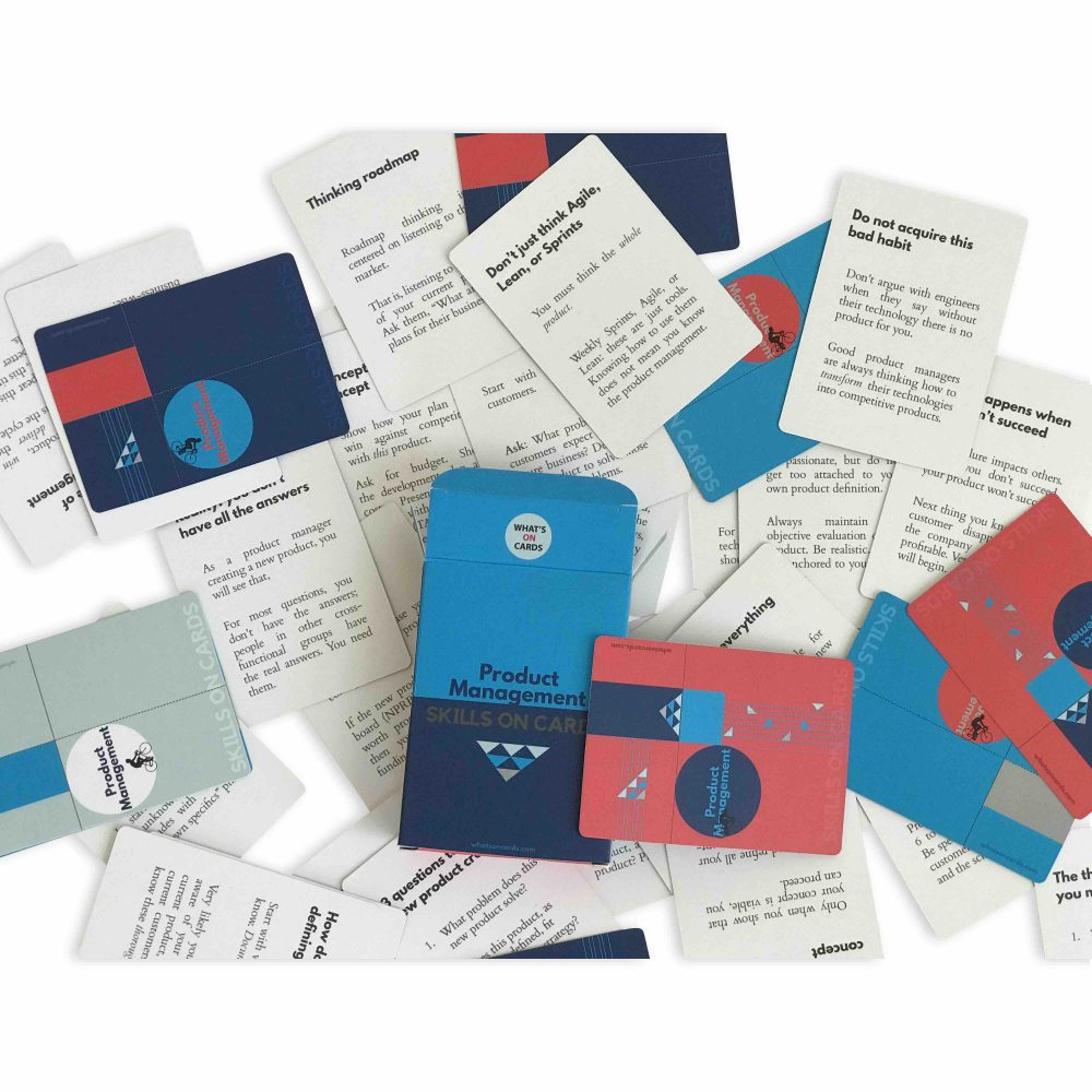 Product Management Skills on Cards Deck