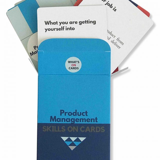 Product Management Skills on Cards Deck 1
