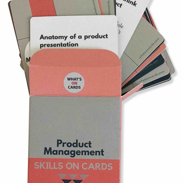 Product Management Skills on Cards Deck 2